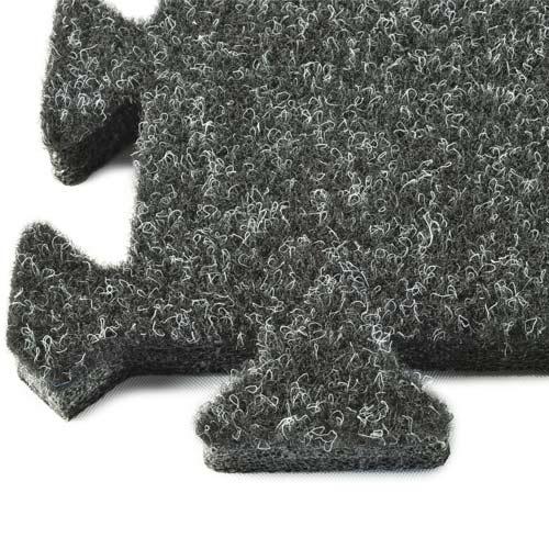 90fb1c2b859c Comfort Carpet Tile 10x20 ft Kit Beveled Edges corner. Trade Show Carpet  Tiles 10x20 ...
