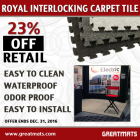 Royal Interlocking Carpet Tile thumbnail