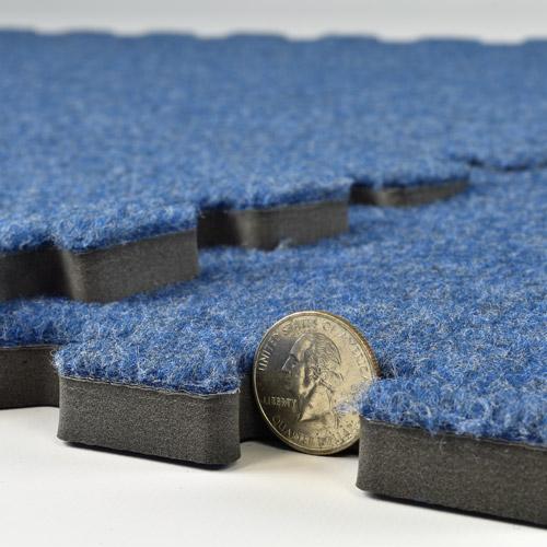 Best To Worst Rating 13 Basement Flooring Ideas: Interlocking Carpet, Show Carpet Tiles