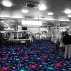 Neon Fluorescent Carpet Tile 1x1 meter