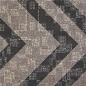 Etruscan Carpet Tile Chocolate swatch