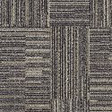 Fine Print Carpet Tile Amherst Gray swatch