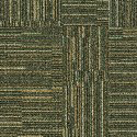 Fine Print Carpet Tile Seagrass swatch