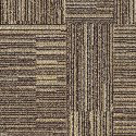 Fine Print Carpet Tile Toffee swatch