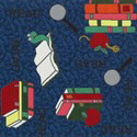 Kids Carpet Tiles Bookworm swatch