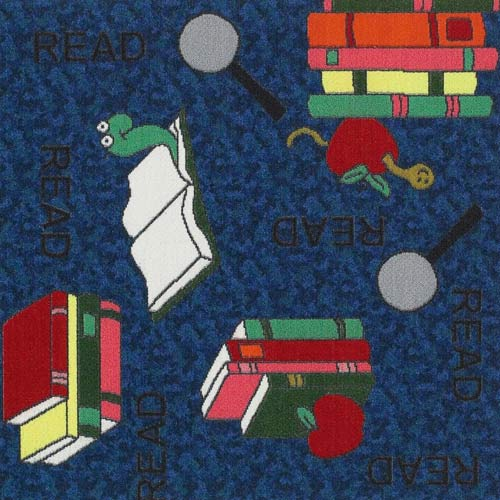 Kids Carpet Tiles Bookworm