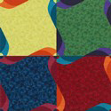 Kids Carpet Tiles Pinwheel swatch