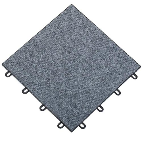 Carpet Flex Basement Floor Carpet Tile.