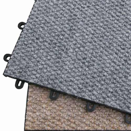 CarpetFlex Carpet Tiles, Raised Tile