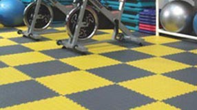 Modular Garage Floor Soft Diamond