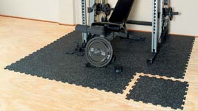 Home Gym Flooring in Basements
