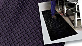 Rubber flooring Diamond Runner