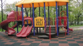 Bounce Back Playground Surface