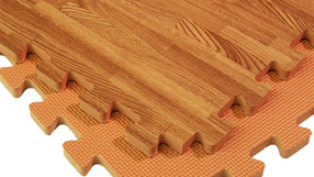 Foam Flooring Wood Reverse