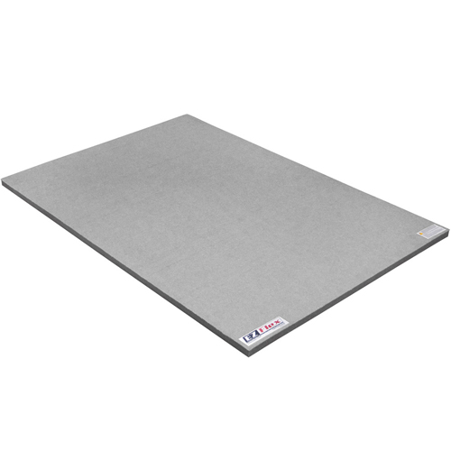 Cheer Mat 4x6 Ft 1-3/8 Inch full gray.