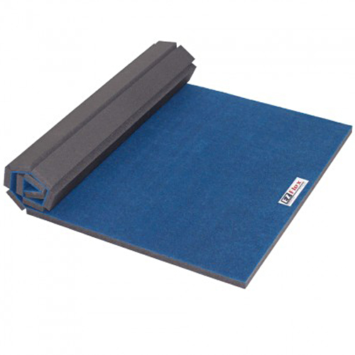Cheer Floor for Home 4x6 Ft 1-3/8 Inch blue roll.
