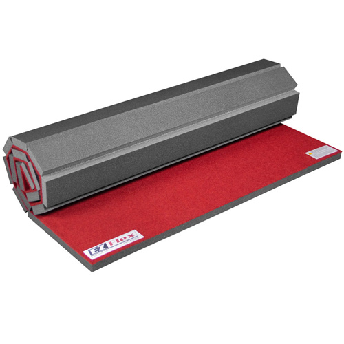 Cheer Floor for Home 4x6 Ft 1-3/8 Inch red roll.