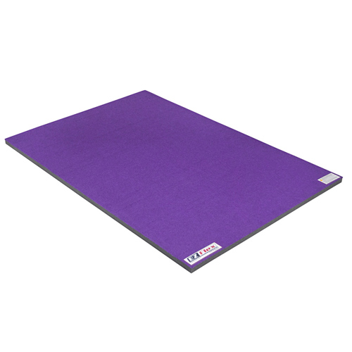 Cheer Mat Home 4x6 Ft x 2 Inch purple full.