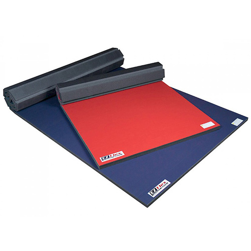 Cheer Mat Home 4x6 Ft x 2 Inch stack of mats.