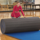 Cheerleading Mats 6x42 ft x 2 Inch Poly Flexible Roll