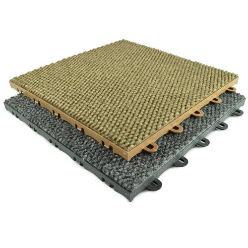 Carpet Tile Home, Raised Base Carpet Tiles Snap Connect