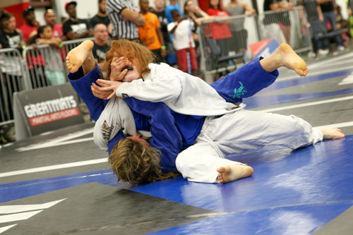 AGF Kids Gi Grappling Greatmats Face