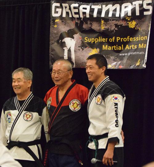 Kyuki-Do Grandmasters Kim and Master Kim