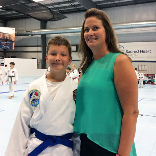 AKF Black Belt Extravaganza Ticket Winner Jacob Hansen