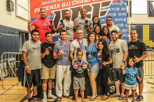 Phoenix AGF Champs Ares Naba BJJ