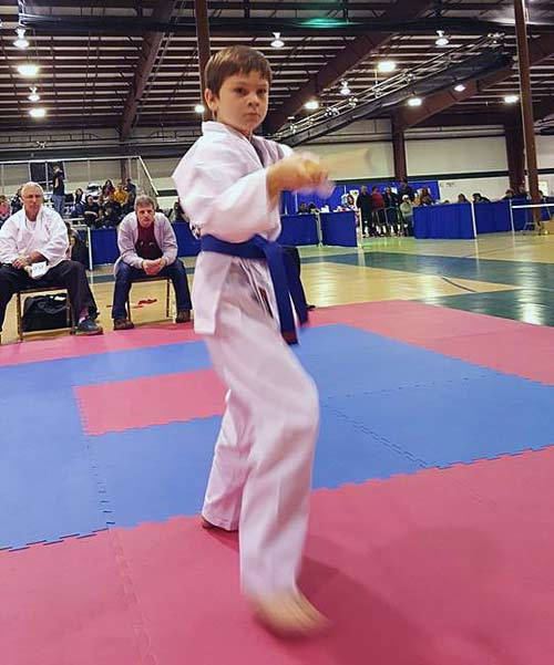 Andy White at Karate Classic
