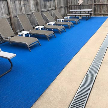 What Is The Best Pool Decking For Over Concrete Outdoor Tile Ideas