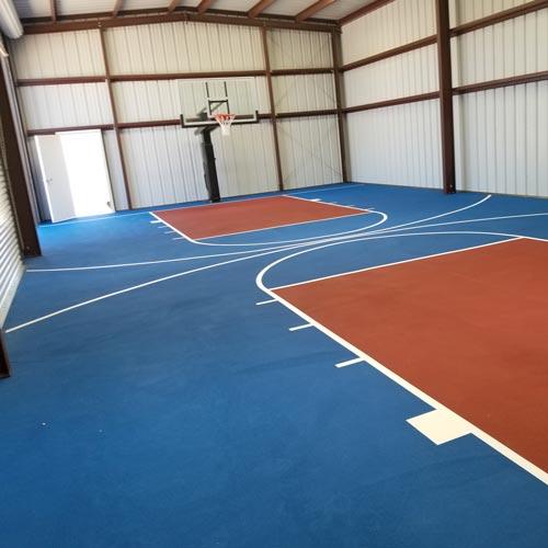 Basketball Court Wall Padd Christopher Moss Testimonial