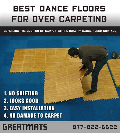 Dance Floors For Over Carpet The Top 5