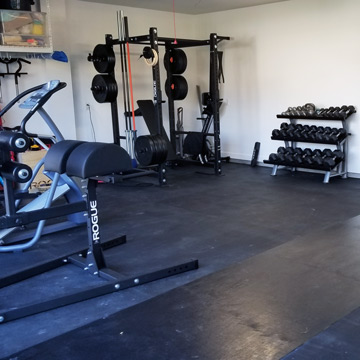 What Is The Best Flooring For A Garage Gym