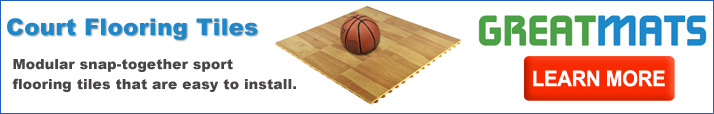 Modular basketball court tiles for indoors and outdoors for How to build your own basketball court