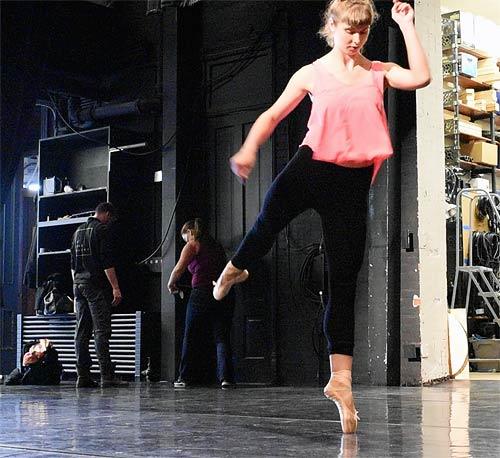 Dance Studio Subfloor Elite at Mabel Tainter Memorial Theater for St. Paul Ballet