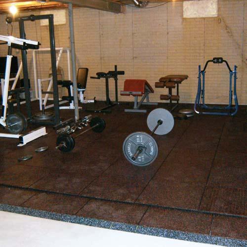 UltraTile Rubber Weight Floor