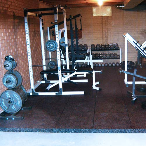 Ultra Tile Weight Room