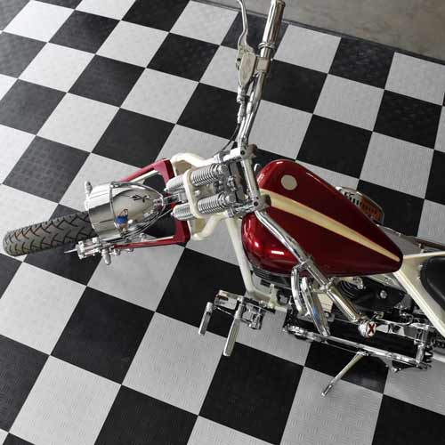 Easily Install and Remove Garage Floor Tiles