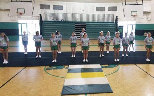 Greenville Middle School Cheerleading Team