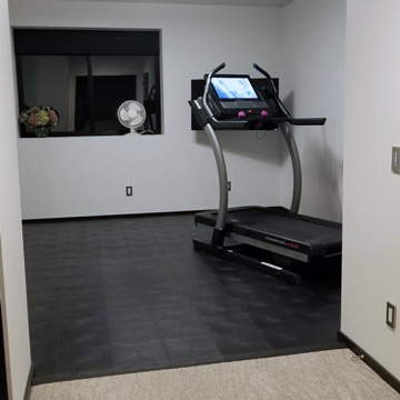 Best Home Gym Flooring Over Carpet For