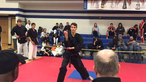 Keaton Detailer at Connellsville Classic Karate Championships