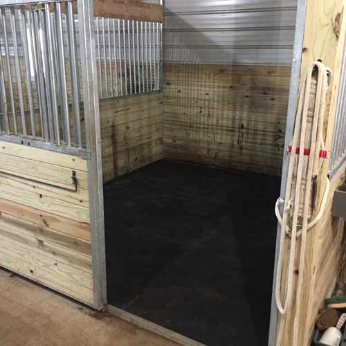 Where Would You Use Horse Stall Mats