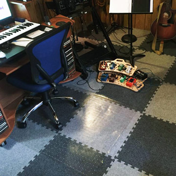 What Is The Best Flooring For A Music Studio Cork Vinyl Foam Ideas