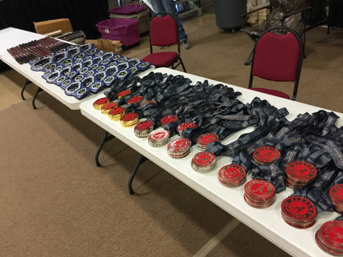 Alabama State Championships Medals