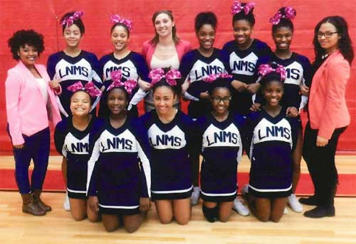 Loy Norrix High School Cheerleading team