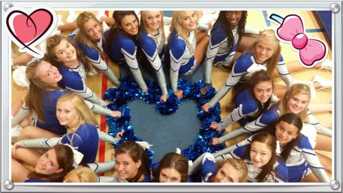 Janesville Craig Cheerleading Team