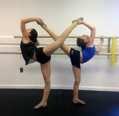Dance Arts of Holly stretch