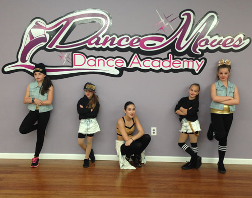 Dance Moves Dance Academy wall