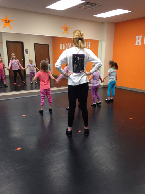 Hollywood Dance Studio practice